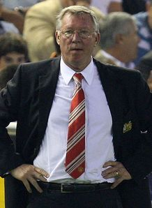 Fergie frustrated by United