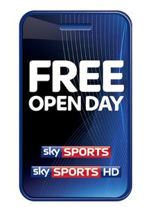 Free Sky Sports Open Day - Sunday 26th September