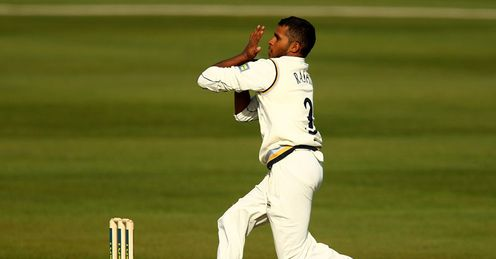 Overlooked: Rashid missed out on a place in England's Ashes squad and the EPP squad