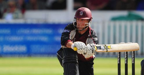 Fully focused: Trescothick must rouse his team in time to take on Warwickshire at Lord's