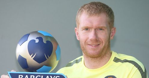 Paul Scholes Player of the Month