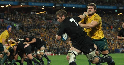 Richie mcCaw beats wallabies
