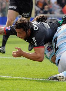 Byron Kelleher try toulouse racing