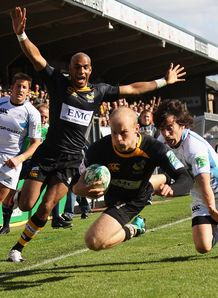 Joe Simpson Wasps v Glasgow HEC 2010