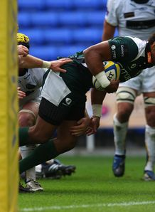 London Irish v Leeds Sailosi Tagicakibau try