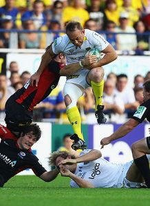 Sarries suffer at Clermont