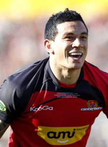 Sonny Bill Williams canterbury happy days