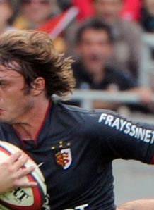Toulouse s full back Maxime Medard 2010 v racing