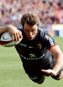Vincent Clerc Try Toulouse black strip 2010