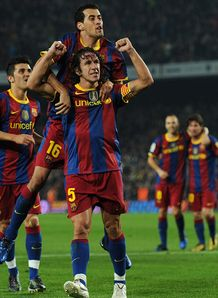 Barca hit by Puyol problem