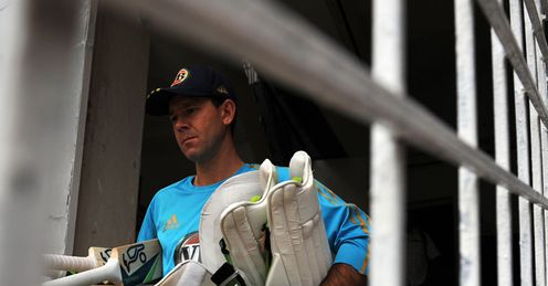 Mettle: Ponting looked in fine fettle as he scored 71 before being run out in Mohali