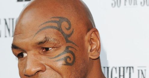Mike Tyson was at ringside as Michael Johnson defeated Aaron Wilkinson