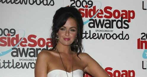 Jennifer Metcalfe: a member of the Hollyoaks cast, along with Michael