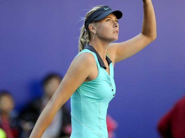 Sharapova: Good record in Melbourne