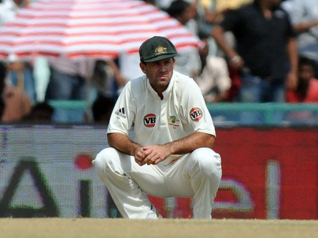 Ponting is a man under pressure going into the Ashes