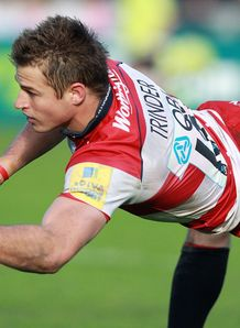 Henry Trinder Gloucester v Saracens 2010