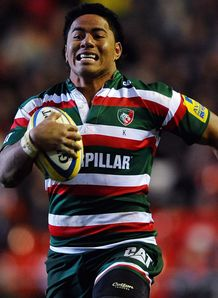 Manu Tuilagi leicester scores try 2010