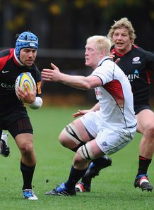 Saracens v USA Schalk Brits