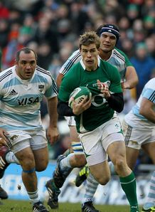 Ireland pass Pumas test