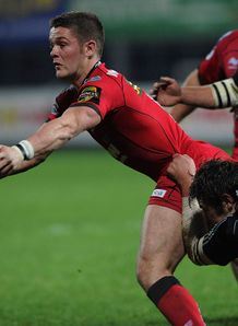 Tavis Knoyle Scarlets v Aironi 2010