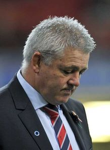 Warren Gatland Wales v South Africa 13/11/2010