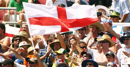 Blowing up: Barmy Army have been given strict rules on trumpets