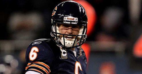 Jay Cutler Chicago Bears. Cutler: four touchdown passes for Bears