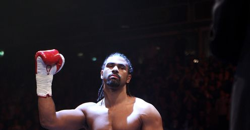 Haye: will be out to make a statement from the start