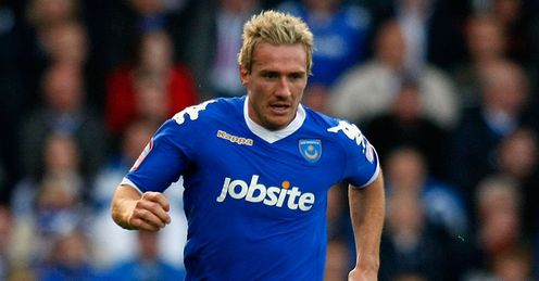 Lawrence: Hoping to help fire Pompey back into the big time