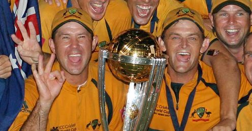 Ricky Ponting Australia 2007 World Cup