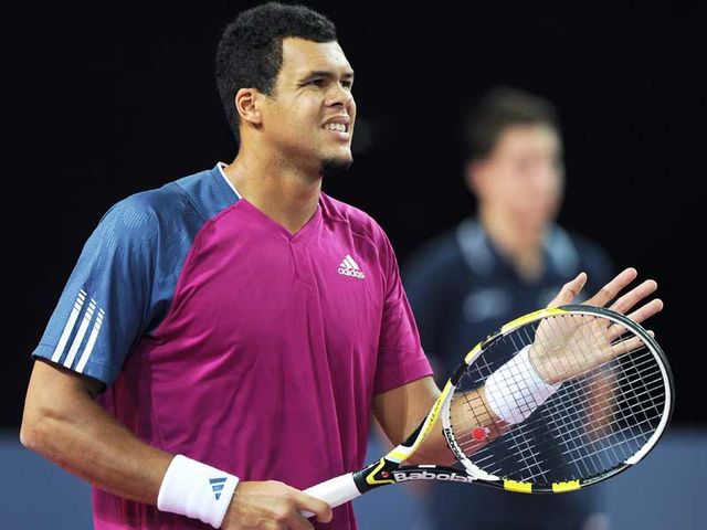 Tsonga - finalist here in 2008.
