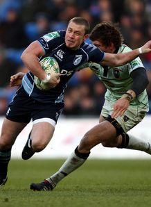 Cardiff v Northampton Richie Rees Tom Wood