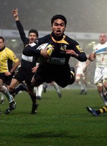 David Lemi Wasps try