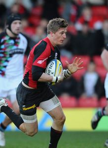 David Strettle Saracens Harlequins 2010