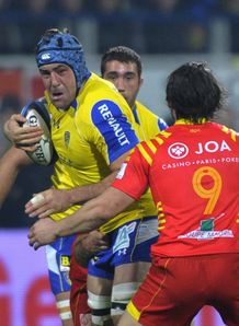 Jamie Cudmore clermont perpignan