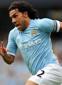 Tevez performs City U-turn
