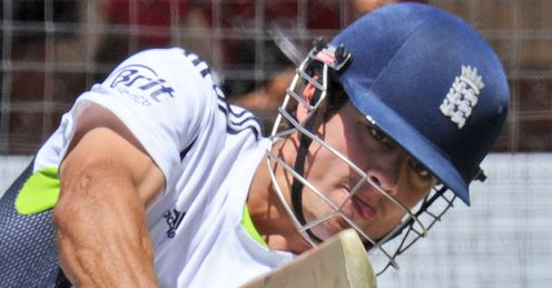 Net result: Cook looked far more instinctive and natural at the crease in the opening Ashes Test