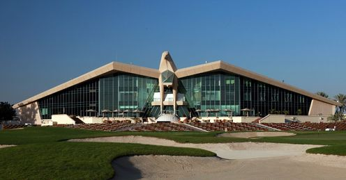 Abu Dhabi Golf Club's famed falcon clubhouse