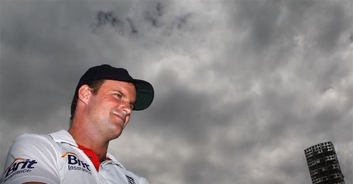 Cloud and proud: Strauss has an impressive win percentage as England skipper