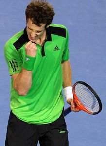 Third time lucky for Murray