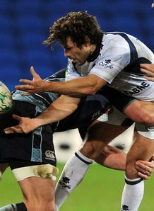 Cardiff tackle on castres jan 2011Alexandre Albouy