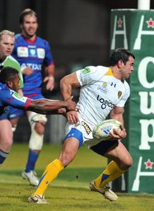 Clermont s Italian centre Gonzalo Canale v Racing