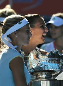 Doubles joy for top seeds