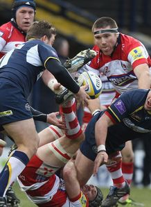 Hendre Fourie leeds Gloucester 2010
