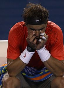Nadal ousted in Australia