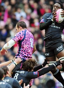 Yannick Nyanga toulouse stade francais line out