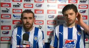Colchester 2-1 Bournemouth - Gillespie