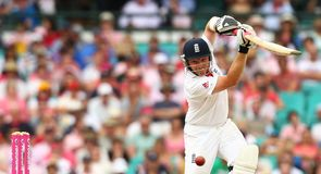 Driven: Bell has matured as an international batsman since being dropped in early 2009