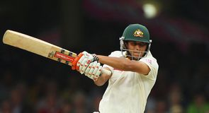 Balanced game: Khawaja was compact in defence but attacked when England's seamers strayed