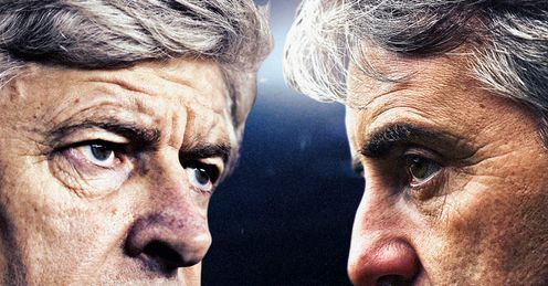 Wenger & Mancini: Merson expects a great game